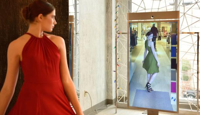 Технологичные зеркала в ритейле: гораздо больше, чем просто отражение