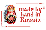 Made by hand in Russia