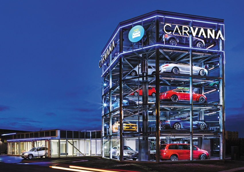 покупка автомобиля в торговом автомате