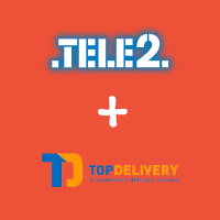 Tele2 запартнерился с TopDelivery