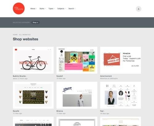 Дизайны интернет-магазинов